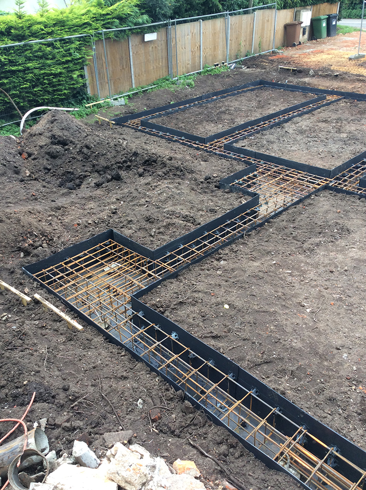 Case study ivy cottage piles ground beams drains for House piles